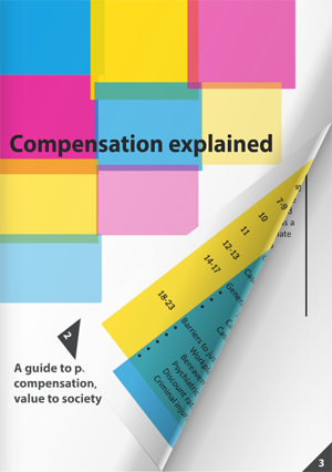 Compensation booklet