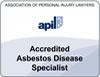 Asbestos disease specialist quality mark