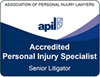 Personal injury - Senior Litigator
