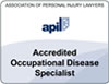 Occupational disease specialist lawyer